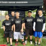 Students support Brain Cancer Awareness Month May, 2011